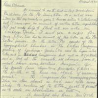 Letter from Maureen Cobb Mabbott